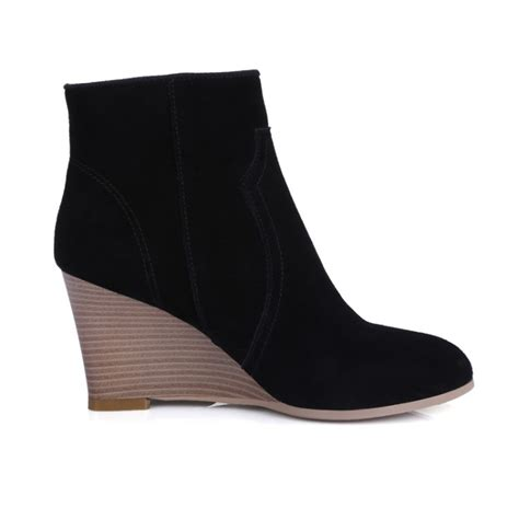 wedge tassel boots pointed uses thin leg boots