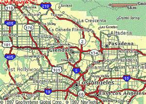where is burbank california on the map local maps burbank glendale pasadena ca posted