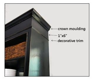 how to make stock cabinets look custom 12 best images about kitchen crown molding on pinterest