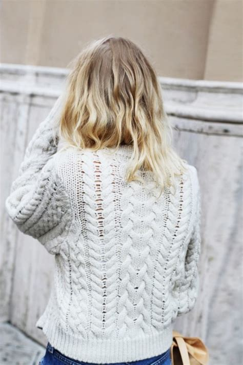 how to wear a cable knit sweater the white cable knit sweater nelson