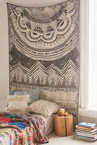 the 25 best ideas about tapestry headboard on