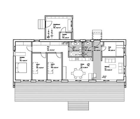 moderne bungalows grundrisse grundriss baufritz moderner bungalow haus