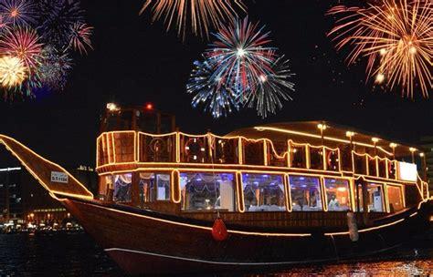new year dinner dubai dubai creek new year dhow cruise dinner 2018 187 adventure