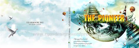 desain cover buku tahunan yearbook alias buku tahunan ryosdesign
