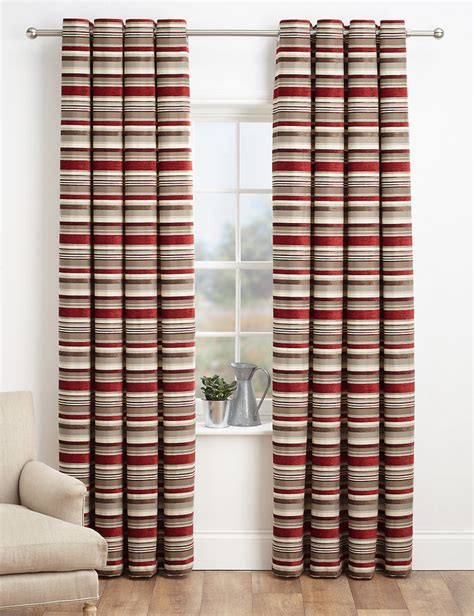 marks and spenser curtains marks and spencer chenille striped curtains