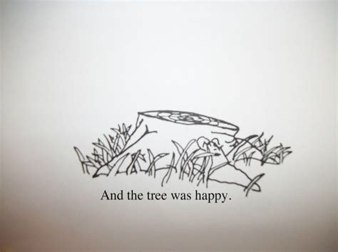 giving tree tattoo the giving tree quotes quotesgram