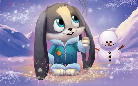 animated rabbit wallpaper cute schnuffel bunny cartoon rabbit wallpapers 1680x1050