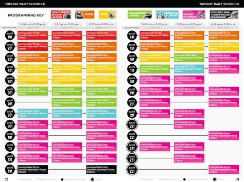 schedule layout graphic design 1000 images about graphic design conference websites on