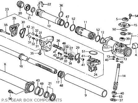90 accord ex engine diagram 90 free engine image for