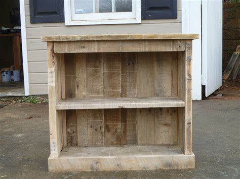 pallet bookcase or stand diy projects