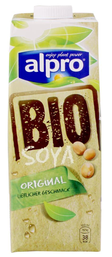 Bio Original alpro bio soya drink original sojamilch 1l