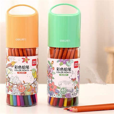 Colored Pencils 12 Deli 37120 buy wholesale prismacolor from china prismacolor