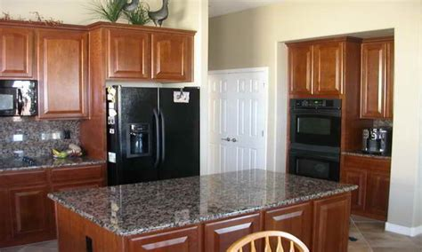 kitchen with black appliances kitchen design ideas with