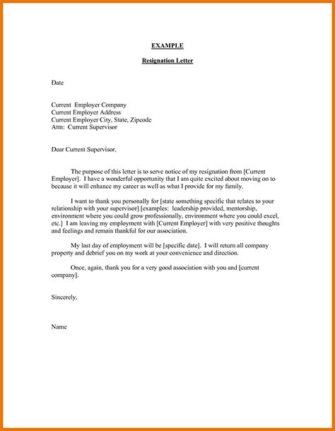 Early Release Resignation Letter Resignation Letter Early Release Choice Image Letter