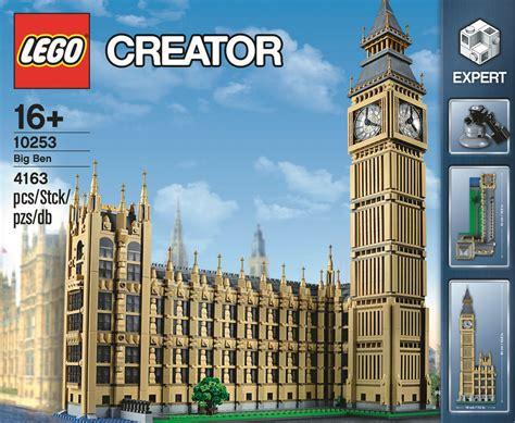 lego big ben aristektur terlaris lego big ben creator expert set 10253
