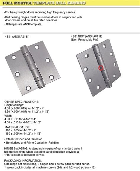 Door Mortise Template Emtek Door Hardware Emtek Hailey Mortise Sideplate Locks Emtek Pocket Emtek 2115 Template