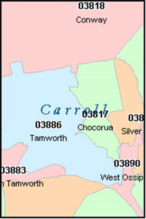 new hshire zip code map union new hshire nh zip code map downloads