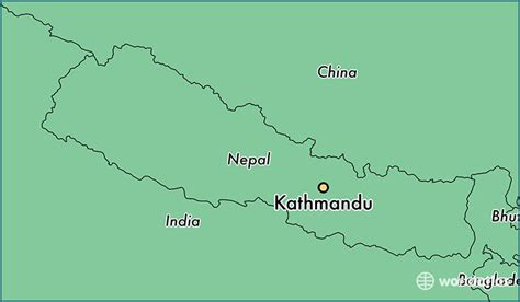 where is nepal on the map where is kathmandu nepal located on a map