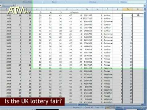 Spreadsheet Numbers by Lottery Numbers In A Spreadsheet