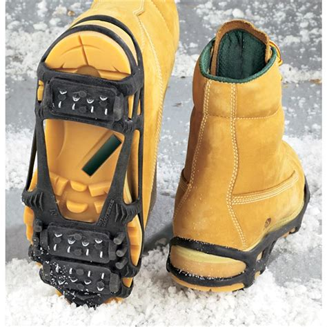 boat shoe cleats stabilicers lite ice cleats 106310 boot shoe