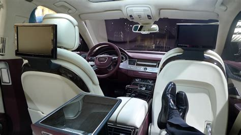 Car With Reclining Back Seat by Paging Lahood New Audi A8 With Wire Speed