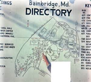 bainbridge map panoramio photo of 1964 6 usntc bainbridge md partial map
