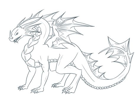 dragon outline related keywords suggestions dragon