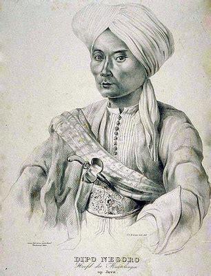 biografi sultan diponegoro gambar foto pahlawan nasional indonesia gambar pangeran