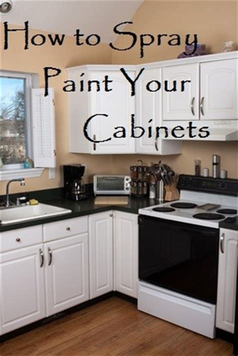 how to spray paint kitchen cabinets how to spray paint cabinets