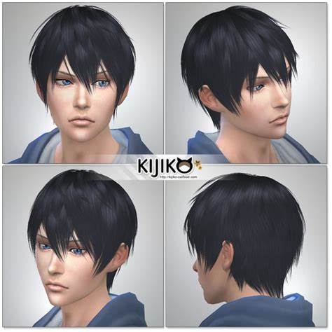 sims 4 anime hair cc kijiko archives sims 4 downloads