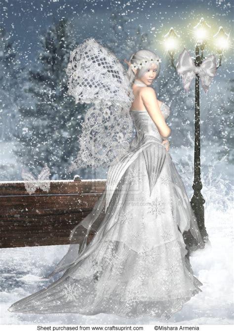 fairytale snow mishara armenia fairy art the fairy gathering