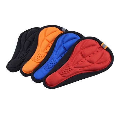 bicycle seat pad cover thick cycling bicycle pad seat saddle cover soft bike
