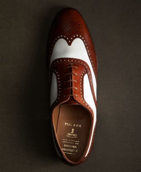 Headway Great Brown Footwear brothers the great gatsby collection white and brown spectator wingtips in brown for