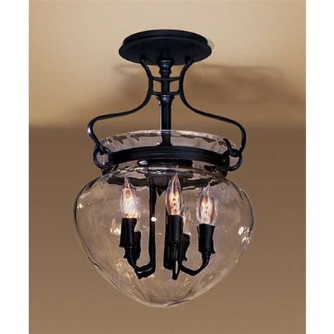 acharn water glass ceiling light hubbardton forge semi