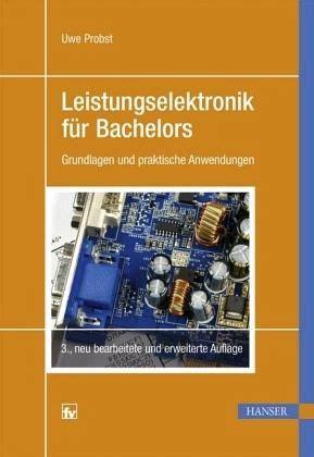 Leistungselektronik F 252 R Bachelors Von Uwe Probst
