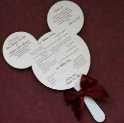 fan program wedding paper perfection wedding program fan