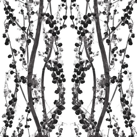 black removable wallpaper branches modern classic black white removable wallpaper