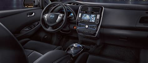 nissan leaf 2016 interior 2016 nissan leaf available in indianapolis and greenwood