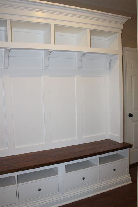 bench mudroom making mudroom storage from an ikea hack