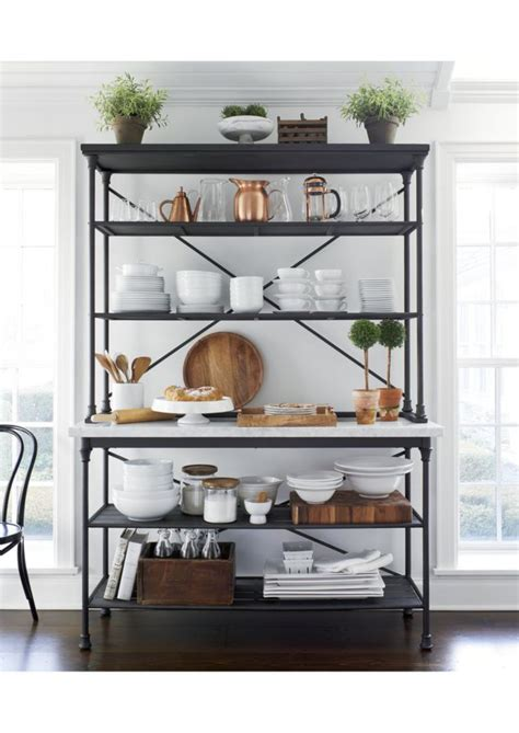 kitchen rack ideas 25 best ideas about bakers rack decorating on
