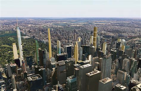 what the new york city skyline will look like in 2018