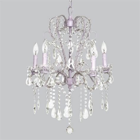 Lavender Chandelier Lavender 5 Light Whimsical Beaded Chandelier By Jubilee Collection