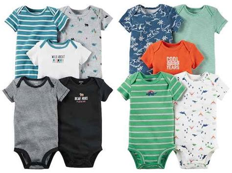 Carters Bodysuit Sweepstakes - hot carters bodysuits only 1 54 each at kohl s