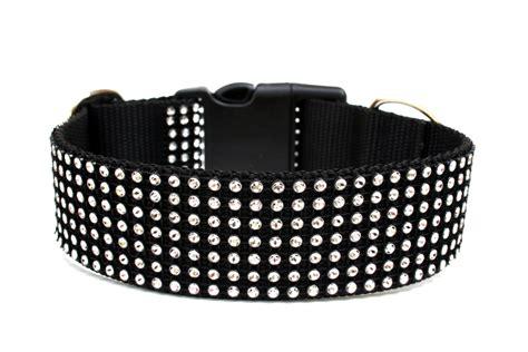 jeweled collars rhinestone collar 1 5 black collar