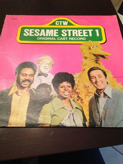sesame street  original cast record album ctw  ebay