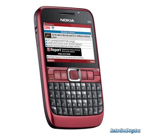 nokia phone e63 nokia e63 letsgodigital
