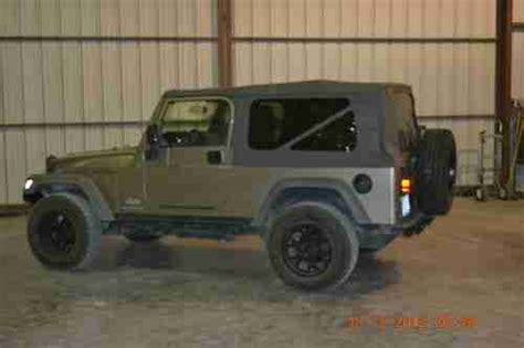 2005 Jeep Wrangler Unlimited Soft Top Find Used 2005 Jeep Wrangler Unlimited Sport Utility 2