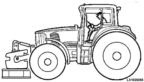 tractor tire coloring page omal161979 6020 6120 6220 6320 6420 and 6420s