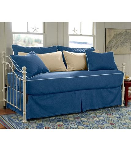fitted daybed slipcover washable piped fitted slipcover daybed set 149 comes in