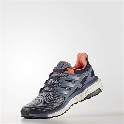 adidas womens energy boost running shoes black purple